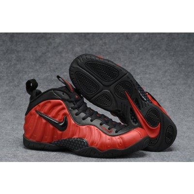 Nike Air Foamposite Pro University Red-Black Shoes