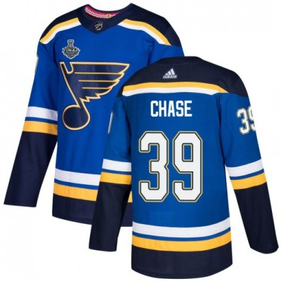 NHL St. Louis Blues 39 Kelly Chase 2019 Stanley Cup Final Blues Adidas Men Jersey