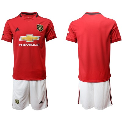 2019 20 Manchester United Home Soccer Men Jersey