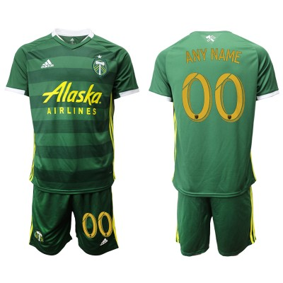 2019 20 Portland Timbers Customized Home Soccer Men Jersey