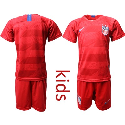 2019 20 USA Away Soccer Youth Jersey