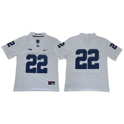 NCAA Penn State Nittany Lions 22 White College Football Legend Men Jersey