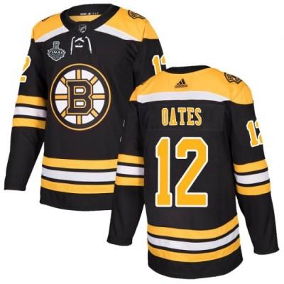 NHL Boston Bruins 12 Adam Oates 2019 Stanley Cup Final Black Adidas Men Jersey