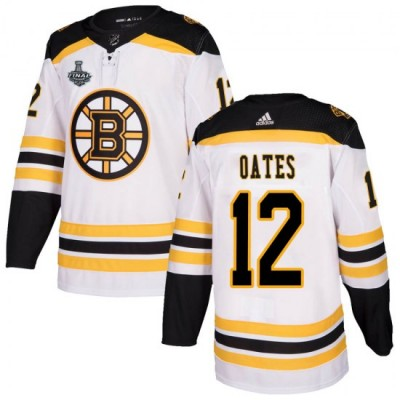 NHL Boston Bruins 12 Adam Oates 2019 Stanley Cup Final White Adidas Men Jersey