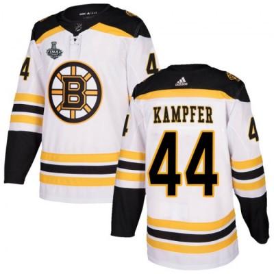 NHL Boston Bruins 44 Steven Kampfer 2019 Stanley Cup Final White Adidas Men Jersey