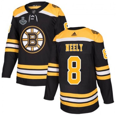 NHL Boston Bruins 8 Cam Neely 2019 Stanley Cup Final Black Adidas Men Jersey
