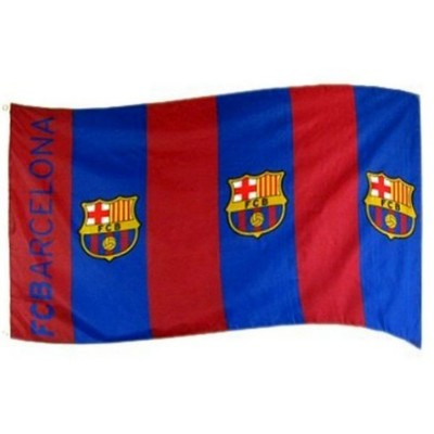 Barcelona FC Team Flag  3