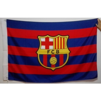 Barcelona FC Team Flag  1