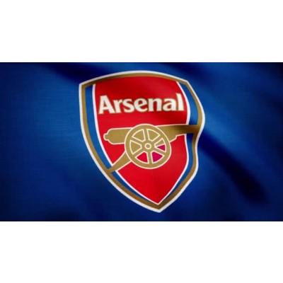Arsenal FC Team Flag  1
