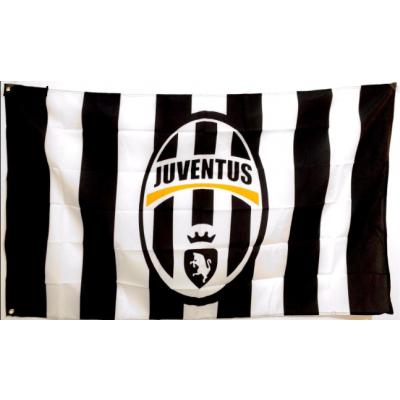 Juventus FC Team Flag  1