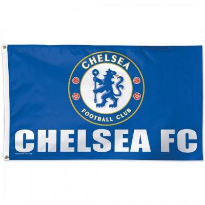 Chelsea FC Team Flag  1