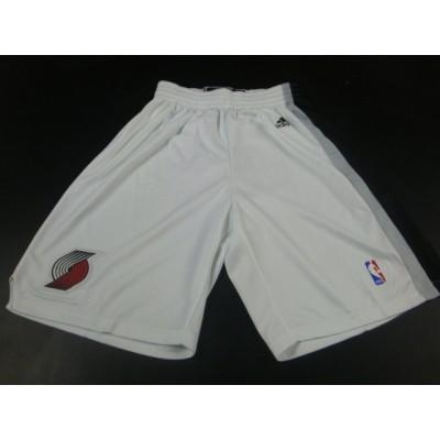 NBA Blazers White Swingman Shorts