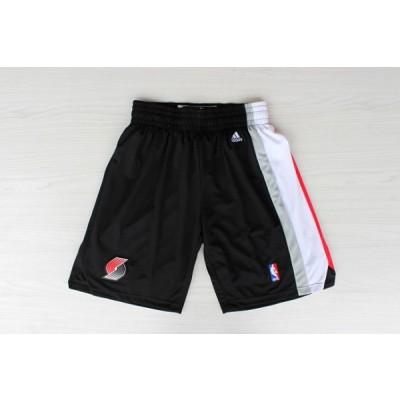 NBA Blazers Black Shorts