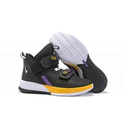 Nike LeBron Soldier 13 Black Yellow Shoes