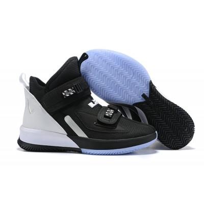 Nike LeBron Soldier 13 Black White Shoes