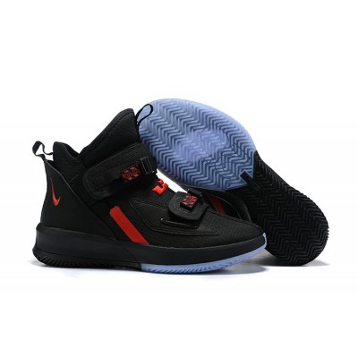Nike LeBron Soldier 13 Black Red Shoes