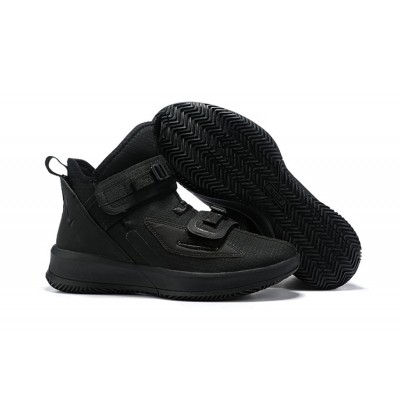 Nike LeBron Soldier 13 All Black Shoes