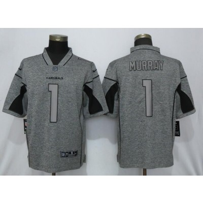 Nike Cardinals 1 Kyler Murray Gray Gridiron Gray Vapor Untouchable Limited Men Jersey