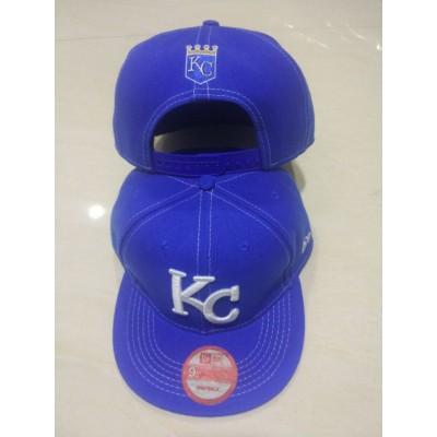 MLB Royals Logo Navy Adjustable Hat LT