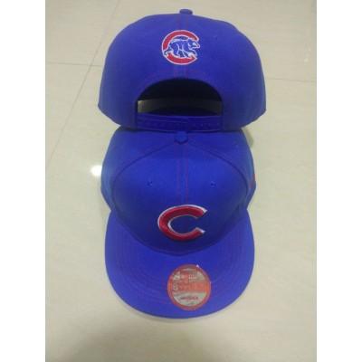 MLB Cubs Team Logo Blue Adjustable Hat LT