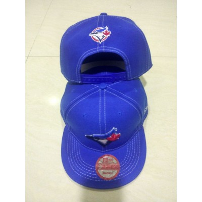 MLB Blue Jays Team Logo Blue Adjustable Hat LT