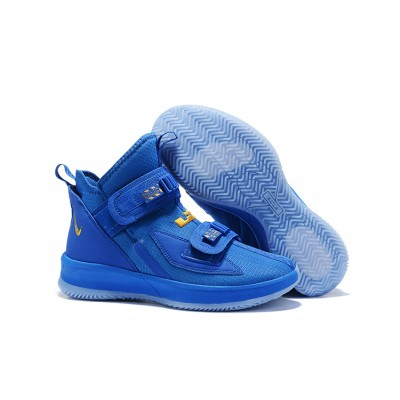 Nike LeBron Soldier 13 Royal Gold Shoes