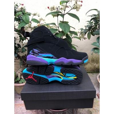 Air Jordan 8 Aqua Black Shoes