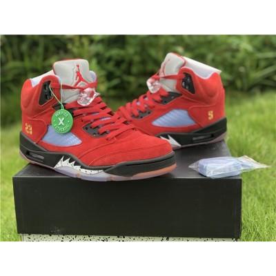 Trophy Room x Air Jordan 5 'University Red' Shoes