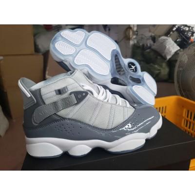 Air Jordan Six Rings Gray White Shoes