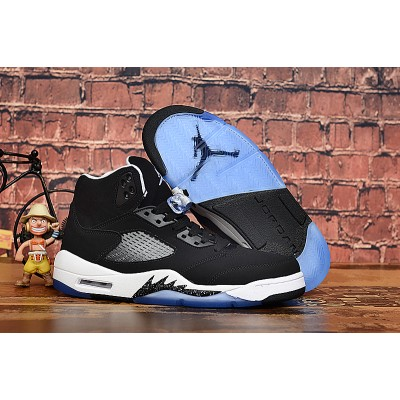 Air Jordan 5 Oreo Black GS Shoes