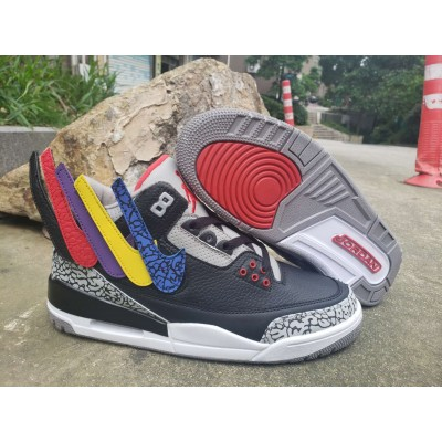 Air Jordan 3 Black Shoes