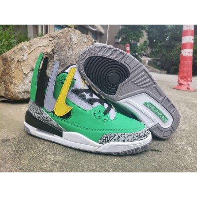 Air Jordan 3 Apple Green Shoes