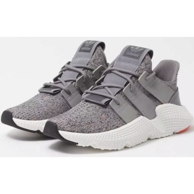 "Adidas Originals Prophere ""Grey/White/Solar red"" Shoes"
