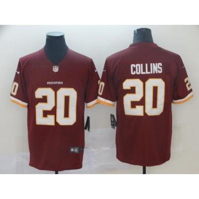 Nike Redskins 20 Landon Collins Burgundy Vapor Untouchable Limited Men Jersey