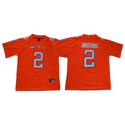 NCAA Clemson Tigers 2 Sammy Watkins Orange Limited Men Jersey