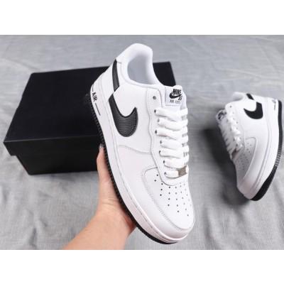 Supreme X Comme Des Garcons X Nike Air Force 1 Low White Shoes