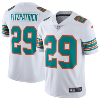 Nike Dolphins 29 Minkah Fitzpatrick White Alternate Vapor Untouchable Limited Men Jersey