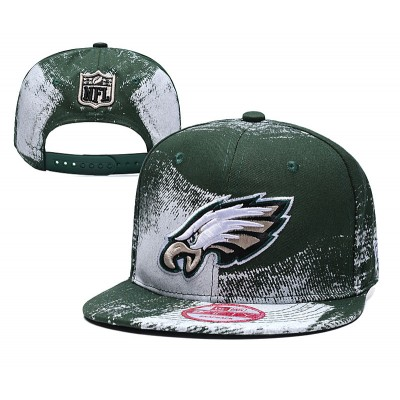 NFL Eagles Team Logo Green Adjustable Hat SG