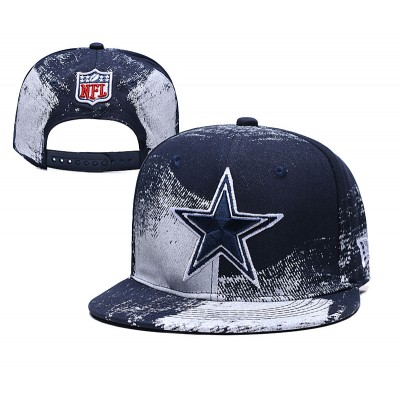 NFL Cowboys Team Logo Navy Adjustable Hat SG
