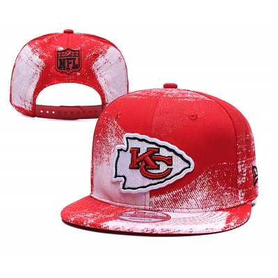NFL Chiefs Team Logo Red Adjustable Hat SG