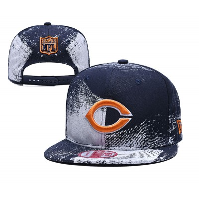 NFL BearsTeam Logo Navy Adjustable Hat SG
