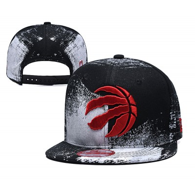 NBA Raptors Team Logo Black Adjustable Hat SG