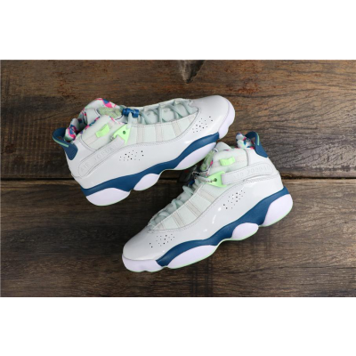 Nike Air Jordan 6 Rings Royal White Shoes