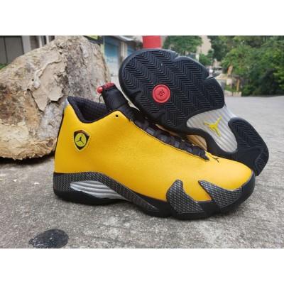 Air Jordan 14 Black Yellow Shoes