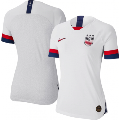 2019-20 USA Home White Thailand Soccer Women Jersey
