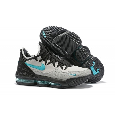 Nike LeBron 16 Low Clear Jade Shoes