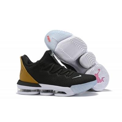 "Nike LeBron 16 Low ""Soundtrack"" Black Multicolor White Shoes"