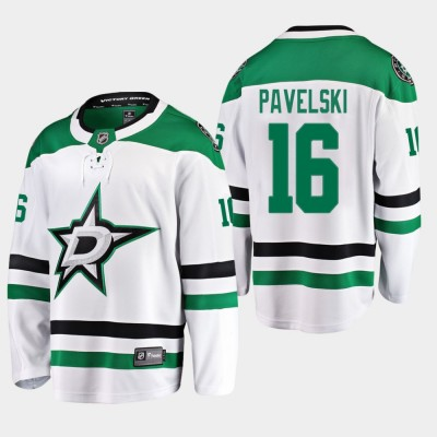 NHL Dallas Stars 16 Joe Pavelski White Adidas Men Jersey