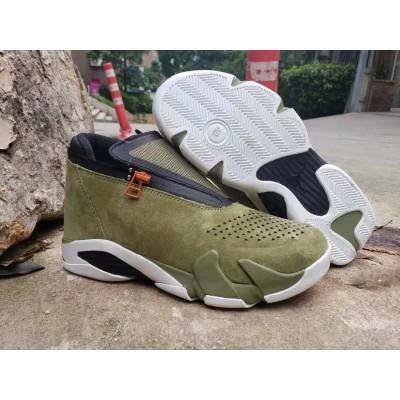 Air Jordan 14 Olive Green Shoes
