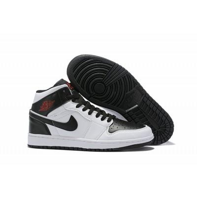 Air Jordan 1 Mid SE Black White Shoes